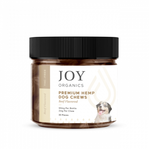 Joy Organics Hemp Dog Chews