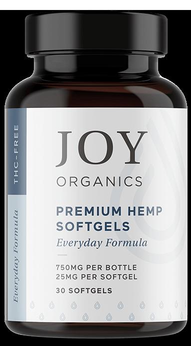 Joy Organics Premium Hemp Softgels