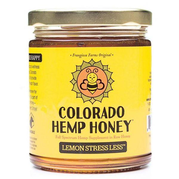 Colorado Hemp Honey Lemon Stress Less