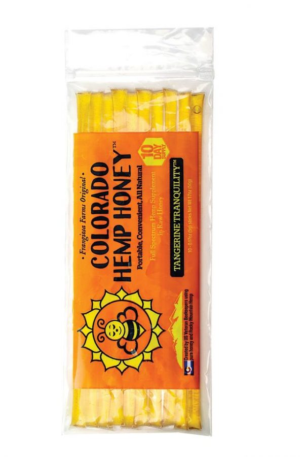 Colorado Hemp Honey TANGERINE TRANQUILITY STICKS