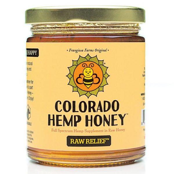 Colorado Hemp Honey RAW RELIEF STICKS